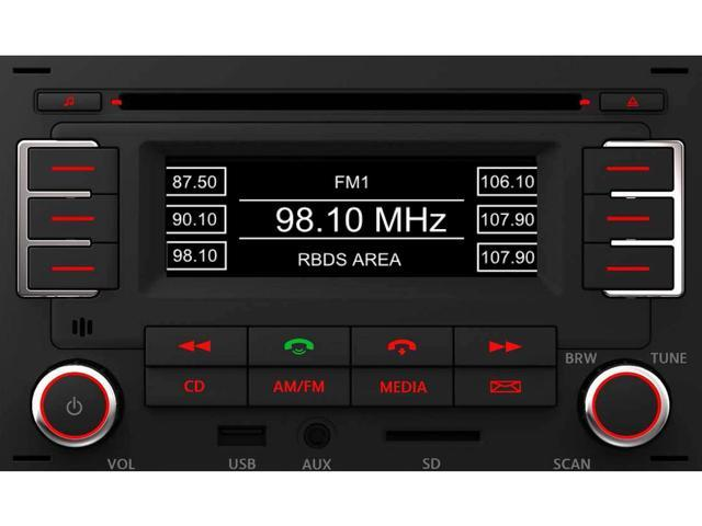 Diagram RMT 100+ MP3 Bluetooth Radio (1JM035157AT) for your 2010 Volkswagen Beetle