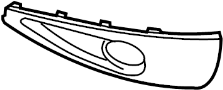 Fog Light Trim image for your Volkswagen